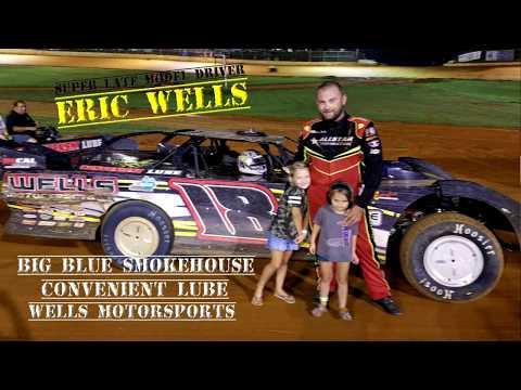 SLM Driver Eric Wells #18 @ Ponderosa Speedway July 13 , 2018