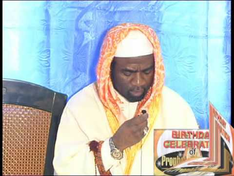 AL-FATHI GAMBIAN GHANIAN MAULID IN HAMBURG 2007 PART 2