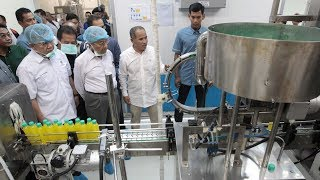 PM visits fruit juice factory in Gurun