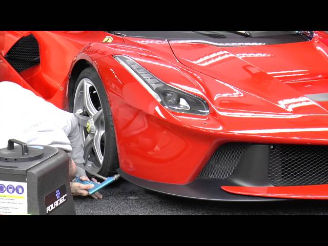 Tragic Laferrari Paint Job Is Enough To Make You Cry