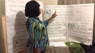 Simulated Lesson Plan: How To Count Money To Second Grade Students.