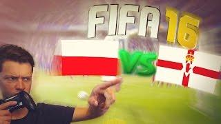 Pierwszy mecz Polaków na Euro vs Irlandia Północna /MBatko