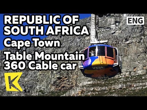 【K】South Africa Travel-Cape Town[남아공 여행-케이프타운]360도 케이블카 테이블마운틴/360/Cable car/Table Mountain