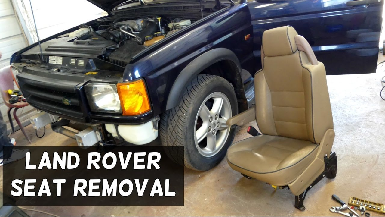 hight resolution of land rover discovery front seat removal replacement