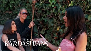 Kim and Khloé Call Out Kourtney Kardashian for Not Sharing Enough | KUWTK | E!