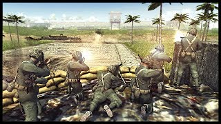ATTACKING SHURI CASTLE! USMC Assault Japanese Castle - Men of War The Pacific Mod Gameplay