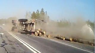 Аварии Лесовозов, подборка дтп
