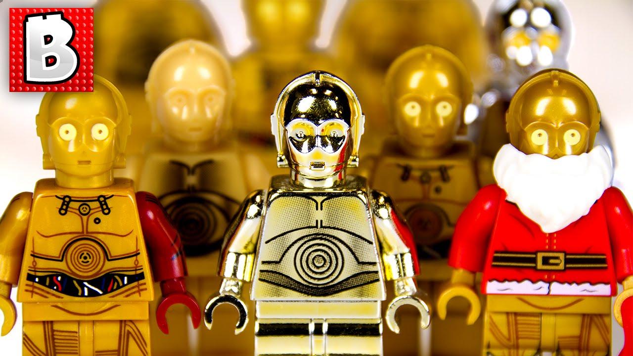 Lego Star Wars C3P0 Mini Figure