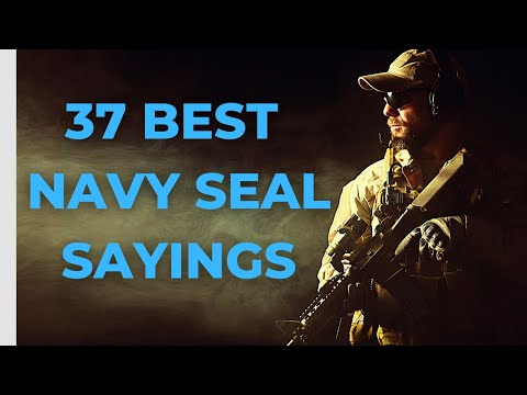 37 Best Navy SEAL Sayings | Motivational Quotes