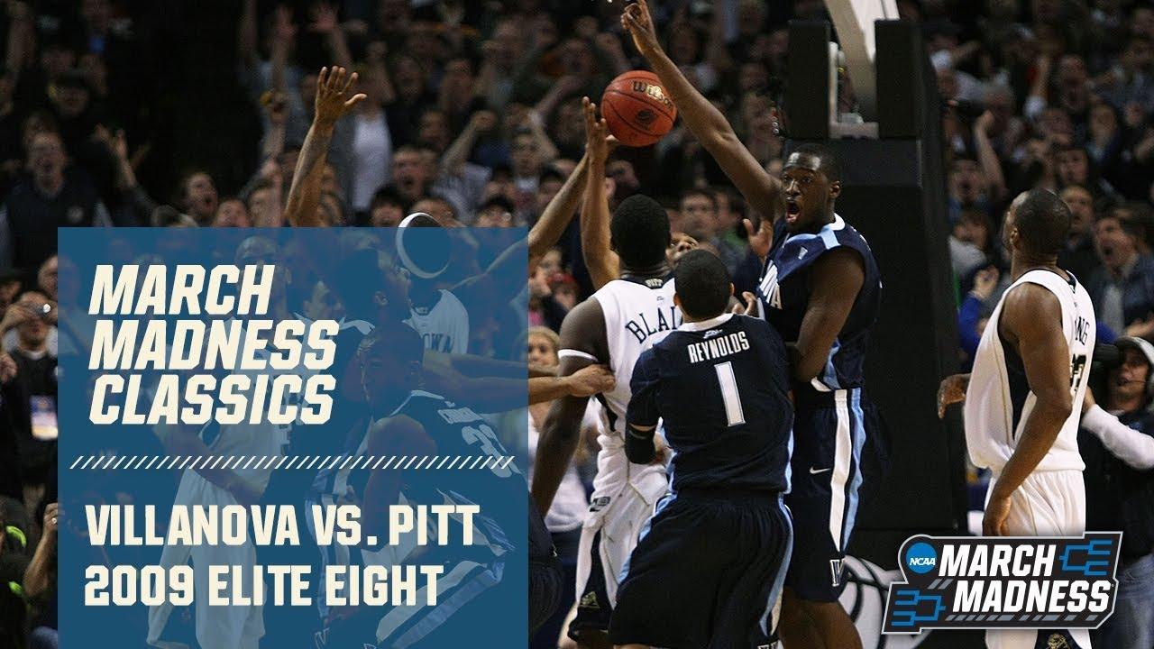 Villanova vs. Pittsburgh: 2009 Elite Eight | FULL GAME