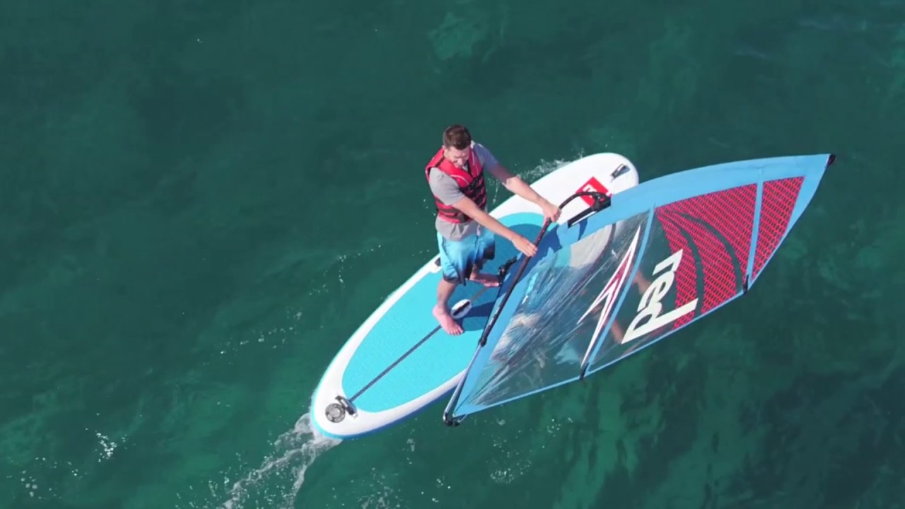 Red Paddle Co 10 7 Windsup 2017 Review Youtube