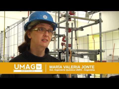 Estudiantes argentinos realizan prácticas en laboratorios de la UMAG