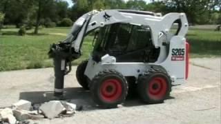 Гидромолот Bobcat (Hydraulic Breaker)(Навесное оборудование для техники Bobcat Официальный дилер Bobcat www.tehnoplaza.ru., 2014-12-19T13:54:59.000Z)