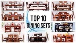 Dining Table: 10 Best Wooden Dining Table Set Design | Modern Dining Table Set | Top 10 Dining Set
