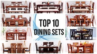 Dining Table: 10 Best Wooden Dining Table Set Design   Modern Dining Table Set   Top 10 Dining Set