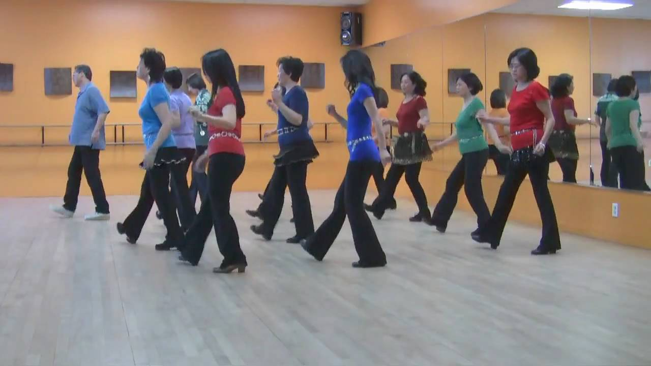 Sunday - Line Dance (Dance & Teach in English & 中文) - YouTube