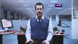 Yes Sir, I WILL boogie in the Office -- New Cadbury Dairy Milk TV ad (30 sec)