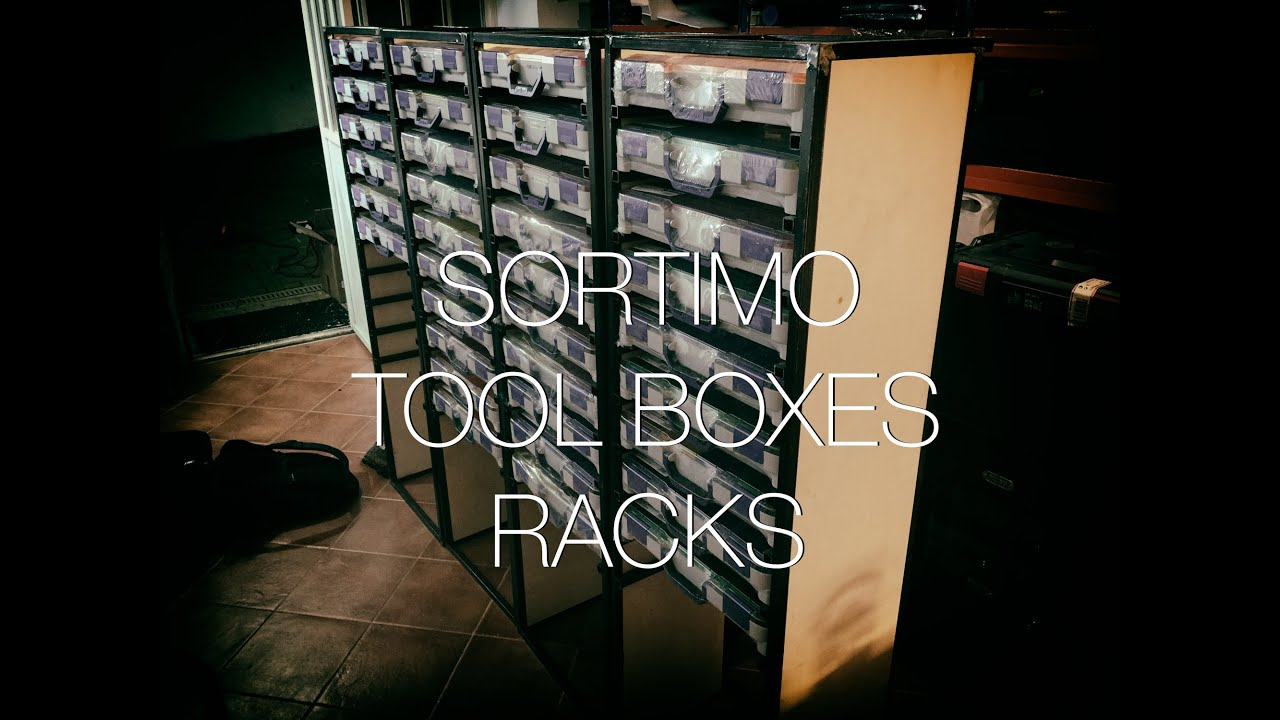 Sortimo Racks My One Day Build Thanks To Adam Savage