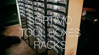 ⇒ Sortimo Racks - My One Day Build Thanks To Adam Savage (organizing Parts)