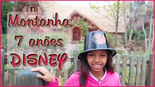Amy na Montanha Russa 7 Anões - Disney ( Seven Dwarfs Mine Train )