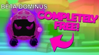 GET A FREE DOMINUS! (AND CODES!) (UPDATE 9) | ROBLOX Bubble Gum Simulator