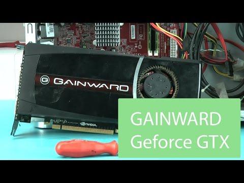 GeForce GTX Gainward schneller machen für Gaming