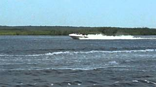 15 Year Old Driving Sea Doo Speedster Jet Boat Jersey Shore