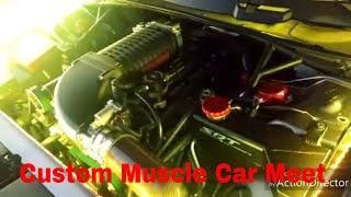 Mopar Meet Up Feat: Boosted Challenger 392, Custom, & Classic Muscle Cars