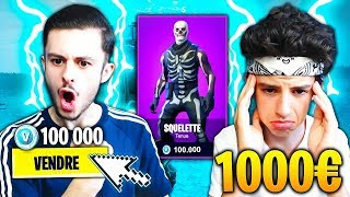 I VEND THE SKIN PREFERED OF MY PETIT FREE on FORTNITE! HE CRIES... 😪