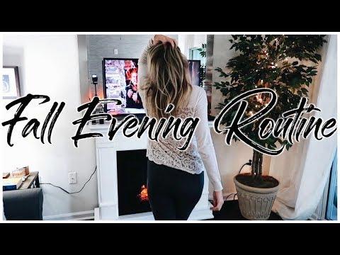 FALL Cozy Night Routine 2018  Renee Amberg