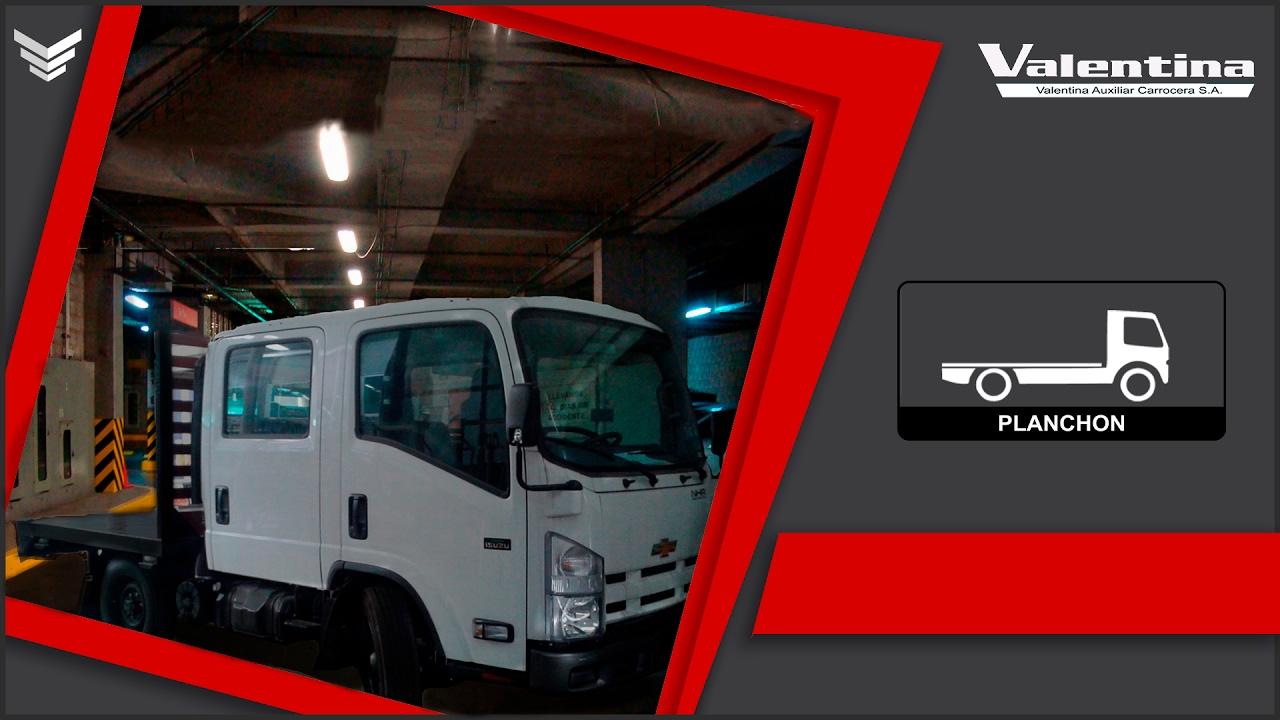 Plataforma sobre Chevrolet NHR Doble Cabina  Valentina Carrocerías  e5d6bb05ebd