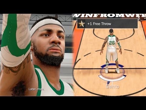 NBA 2k17 MyCAREER - How To Boost Free Throw Rating!