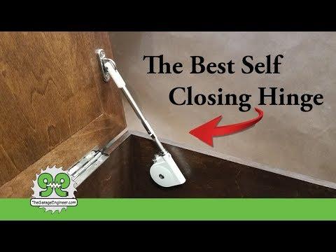 Best Self Closing Hinge. Presented By: The Garage Engineer