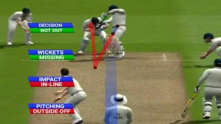 Rahul Dravid's Test Hundred at Lord's | IND VS ENG 1st Test 2011 | Recreated in EA Sports Cricket 07