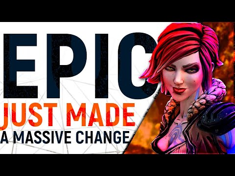 EPIC's Big Exclusive Change: Borderlands 3 On THIRD PARTY Stores & The Steam V EGS Payment Divide