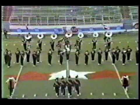 Jacksonville High School Band 1986 CAMC War Memorial Stadium