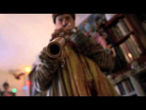 John Kruth plays the Egyptian Arghul Flute
