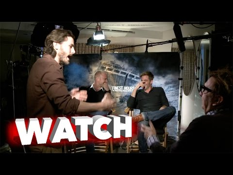 The Finest Hours Full Movie 2016 Review Chris Pine Casey Affleck Ben ...