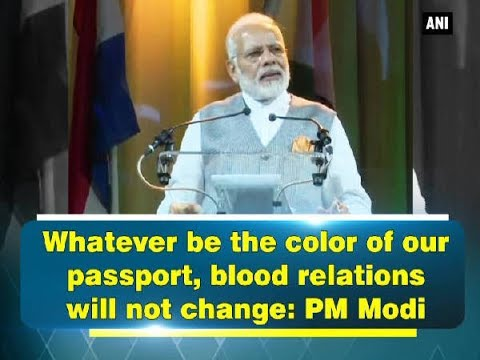 Thumbnail: Whatever be the color of our passport, blood relations will not change: PM Modi - Netherlands News