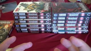 Berserk Manga Unboxing Volumes(7-14)