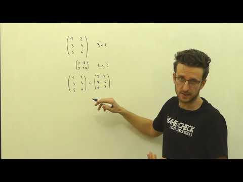 Mathe Basics: Matrizen addieren und subtrahieren   Matrix   Mathecheck.at from YouTube · Duration:  3 minutes 58 seconds