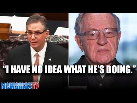 Dershowitz reacts to Trump lawyer's defense argument