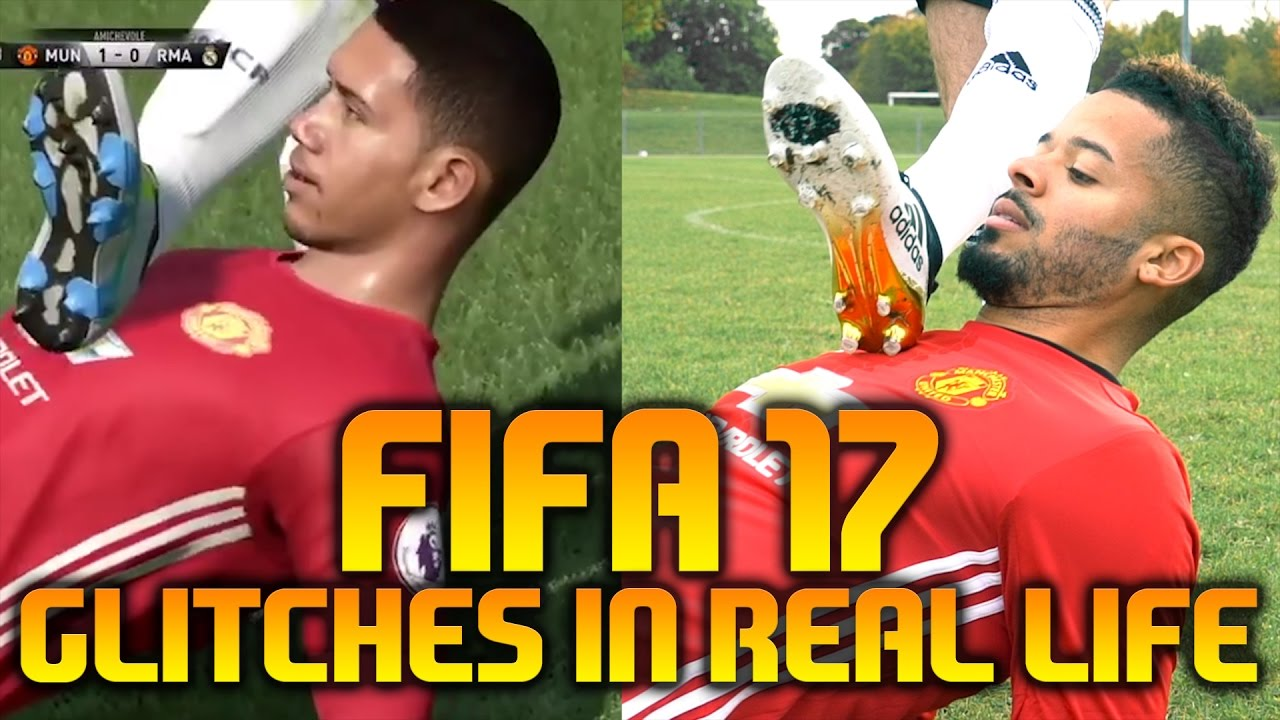 FIFA 17 GLITCHES / FUNNY MOMENTS IN REAL LIFE