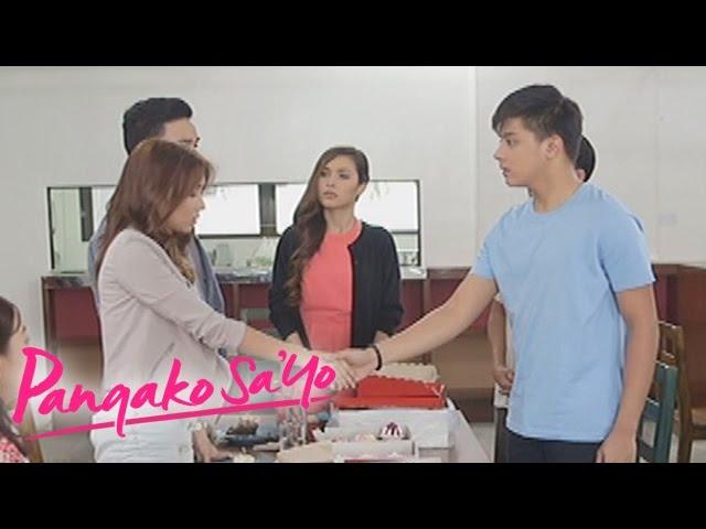 Pangako Sa'Yo: Hand shake