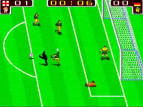 Arcade Coin Op Tecmo World Cup 90 Mame Speed Run One Credit