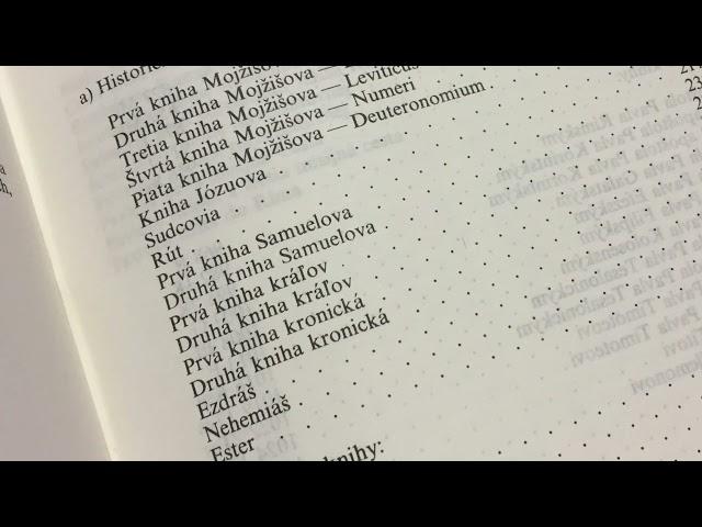 Biblická štvrťhodinka 30