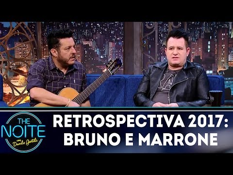 Retrospectiva 2017: Bruno e Marrone | The Noite (28/02/18)