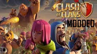COC MODDED Unlimited Troops