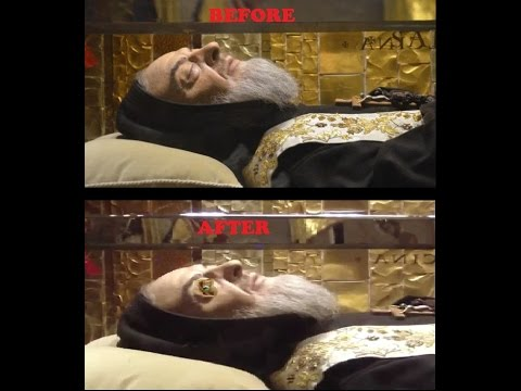 MIRACLE IS PADRE PIO OPENING EYES?