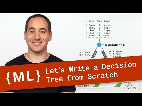 Let's Write A Decision Tree Classifier From Scratch - Machine Learning Recipes #8
